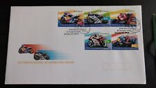 Australia 2004  stamps australian heroes of moto grand prix racing first day iss