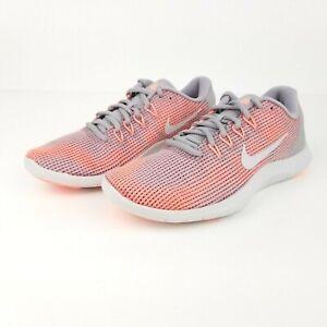 Nike Flex 2018 RN Women's Running Shoes AA7408 005 Crimson Pulse Grey Sizes 6-9