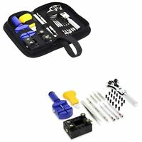 13PCs Watch Repair Kit Back Case Pin Link Spring Strap Remover Opener Tool Set