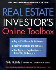 Real Estate Investor's Online Toolbox: Buy and Sell Properties-ExLibrary