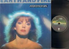 EARTH & and FIRE Andromeda Girl LP 1981 Dutch NEDERPOP Jerney Kaagman