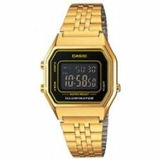 Casio Quartz (Battery) Gold Plated Strap Adult Wristwatches