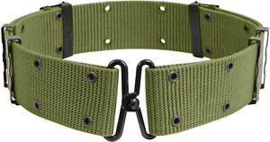 Tactical Nylon Pistol Belt Metal Buckle Military Army Combat Outdoor Hunting