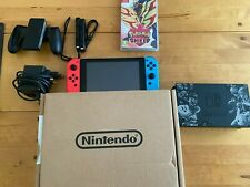 Nintendo Switch Console with 128GB Micro-SD + Pokemon Shield Game
