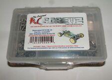 ASSOCIATED RC10 B6.1D RC SCREWZ SCREW SET STAINLESS STEEL ASS091