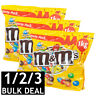 M&M'S PEANUT PARTY PACK M&M CHOCOLATE CANDIES CHOC SNACK SWEETS LOLLIES BULK 1kg