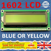 1602 16x2 LCD Display Module BLUE YELLOW Serial Arduino Raspberry PI