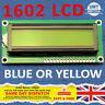 1602 16x2 LCD Display Module BLUE YELLOW Serial Arduino Raspberry PI