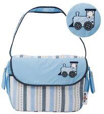 DIAPER BAG-FLAP,MULTI-FUNCTION, SPACEY, STYLISH AND HIGH QUALITY, TRAIN DESIGN