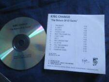 King Chango ‎– The Return Of El Santo Label: Virgin LBCD35 Promo UK CD Album