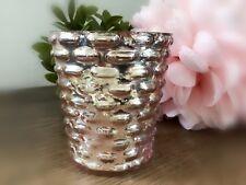 Teelicht Windlicht Kerzenhalter Leuchter Rose Rosa Silber Impressionen Romantik