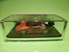 SPARK 1:43 PORSCHE 996 GT3R BOLID'S  029/500  - ORIGINAL BOX - IN MINT CONDITION