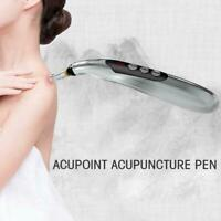 Electronic Therapy Pen Acupuncture Meridian Energy Body Pain Relief Massage A8Z2