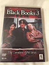 1 x Black Books 3 The Complete 3rd Series DVD As New
