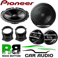 Pioneer Ford Transit Connect 2013 On 600W Component Kit Front Door Car Speakers