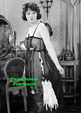BEBE DANIELS 8x11 Photo B&W Beautiful Bedroom Boudoir Lacey Nightgown Vanity