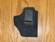 BLACK-IWB Leather Concealment Glock 26/27 30 Grand Power XD XDM HK USP FN Ruger
