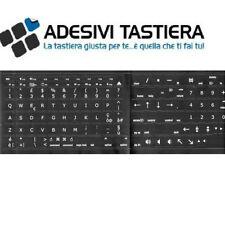 ADESIVI ETICHETTE STICKERS TASTIERA ITALIANA IDEATO PER APPLE MACBOOK PRO E AIR