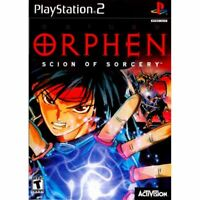 Orphen: Scion of Sorcery PlayStation 2 PS2 Game Complete *CLEAN VG