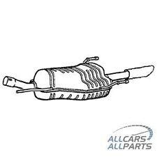 Vauxhall Zafira 1.8i 16v MPV Aug 03-Jun 05 New Rear Exhaust & Tail Pipe GM507G