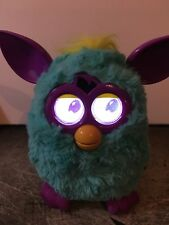 Hasbro FURBY Boom Blue, Purple and Yellow Interactive Toy