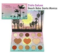 Italia Deluxe Beach Babe Santa Monica Palette - Blush/Bronzer/Highlighter/Shadow