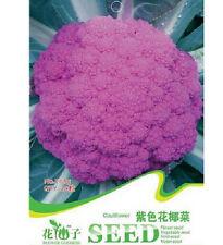 FD1284 Purple Cauliflower Seed Broccoli Seed Green Vegetable *1 Pack 20 Seeds*