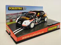 """Slot Scx scalextric 6085 Hyundai Accent #4 """" Coupe Hyundai """" Aristi - Neuf"""