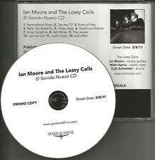 IAN MOORE El Sonido Nuevo ULTRA RARE ADNCE PROMO DJ CD 2011 USA MINT