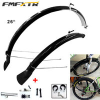 Bike Bicycle Quick Release Carrier Rear Rack Fender Luggage SeatPost Pannier 26""