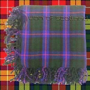 "Men's Scottish Kilt Fly Plaid Armstrong Tartan Acrylic Wool 48"" x 48"" Highland"