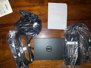 DELL USB-C Docking Station Dock - WD15 with power 180W power adapter refurbished