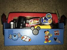 Road Racer Mickey Mouse Themed ToolBox Kit with 23 Tools for Kids Ages 3 Above