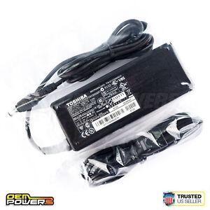Genuine Toshiba PA3283U-5ACA 75W 15V 5A Laptop AC Power Supply Adapter Charger