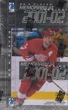 2001-02 Be A Player Memorabilia Hockey Hobby Box