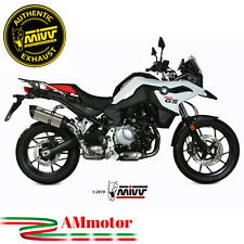 Exhaust Muffler Motorcycle Mivv Bmw F 750 Gs 2019 19 Suono Steel Approved