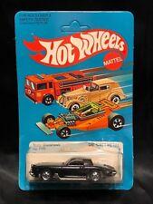 1982 HOT WHEELS #1126 STUTZ BLACKHAWK DIE-CAST METAL BLACK IN PACKAGE