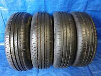 4 x Sommerreifen Reifen Hankook Kinergy Eco 175 65 R15 84H DOT 4716 **7 mm**