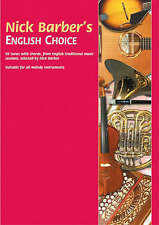 Nick Barber's English Choice: 96 Tunes with Chords, from English Traditional Music Sessions by Nick Barber (Paperback, 2002)
