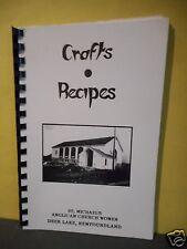 St.Michael's Church,Deer Lake,Newfoundland Cookbook,Crafts & Recipes