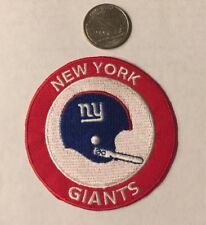 New York Giants Vintage Rare Embroidered Iron On Patch 3� X 3�