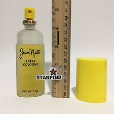 Jean Nate Spray Cologne 2 oz USED Fragrance Vintage Frosted Glass Rare SEE...