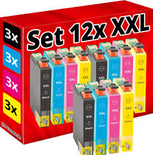 12x SET PATRONEN für EPSON Stylus S22 SX125 SX130 SX230 SX235W SX430 SX445