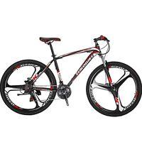 "29"" Mountain Bike 21 Speed 3 Spoke mag wheels Mens Bicycle Front Suspension 29er"