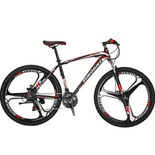 "29"" Mountain Bike 21 Speed 3 Spoke mag wheels Mens Bicycle Front Suspension 29er"