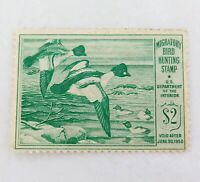 .SCARCE 1949 SCOTTS # RW16 US FEDERAL DUCK STAMP, MLH NOT SIGNED