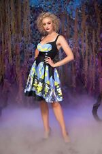 NWT Pinup Couture Dress Medium Disney Witch Transformation Zooey Women's PUG M