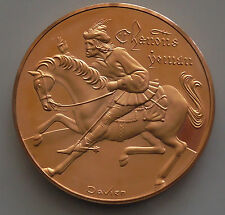 Canon Yeomans Tale Canterbury Tales Poet Chaucer Bronze Religious Medallion