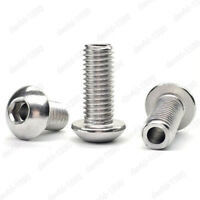 M4 M5 M6 M8 M10 M12 Stainless Steel Hex Socket Button Head Hollow Screws Bolts