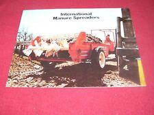 International Harvester Manure Spreaders Dealers Brochure AD-31354-C1